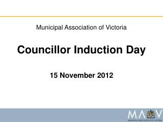 Councillor Induction Day