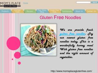 Gluten Free Noodles