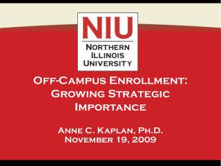 Off-Campus Enrollment: Growing Strategic Importance