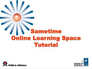 Sametime  Online Learning Space Tutorial