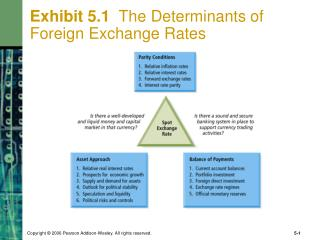 Exhibit 5.1   The Determinants of  Foreign Exchange Rates