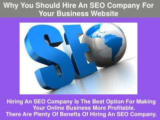 Why You Should Hire An SEO Company For Your Business Website