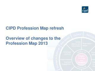 CIPD Profession Map refresh Overview of changes to the Profession Map 2013