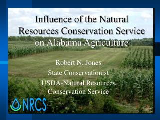 Influence of the Natural Resources Conservation Service  on Alabama Agriculture