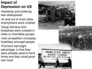 Impact of Depression on US