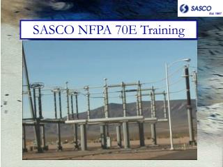 SASCO NFPA 70E Training