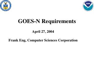 GOES-N Requirements