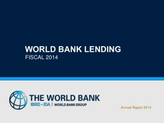 World Bank Lending