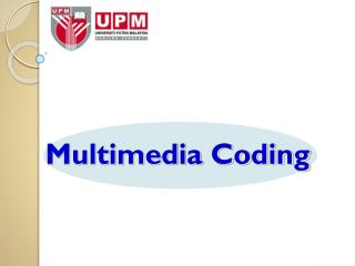 Multimedia Coding