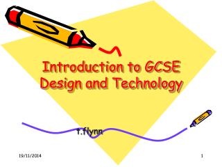 Introduction to GCSE Design and Technology