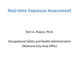 Real-time Exposure Assessment