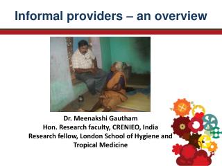 Informal providers – an overview