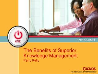 The Benefits of Superior Knowledge Management