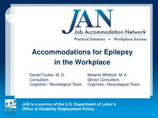 Accommodations for Epilepsy  in the Workplace