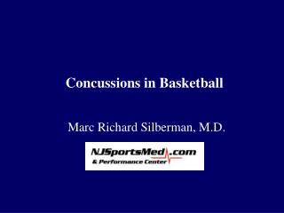 Concussions in Basketball