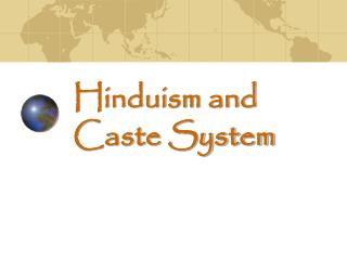 Hinduism and Caste System