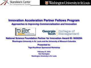 Innovation Acceleration Partner Fellows Program