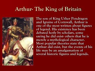 Arthur- The King of Britain