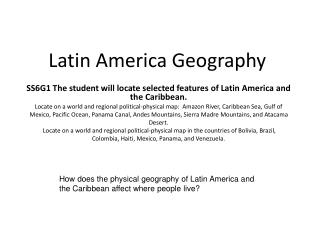 Latin America Geography