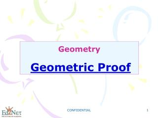 Geometry Geometric Proof