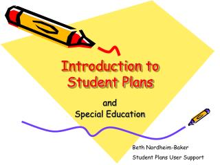 Introduction to Student Plans