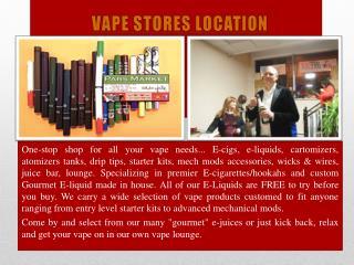 Vape Stores