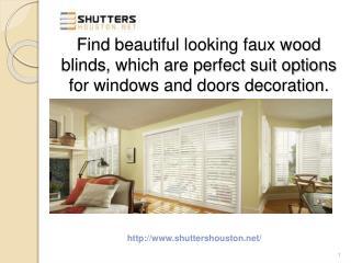 Custom Design Blinds For Windows in Houston