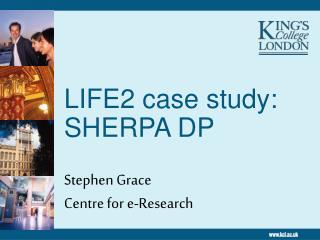 LIFE2 case study: SHERPA DP
