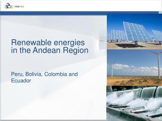 Renewable energies in the Andean Region