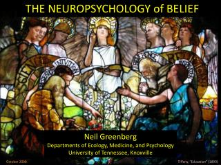 THE NEUROPSYCHOLOGY of BELIEF
