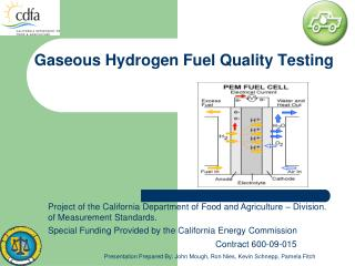 Gaseous Hydrogen Fuel Quality Testing
