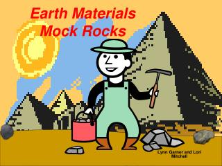 Earth Materials Mock Rocks