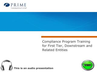 This is an audio presentation