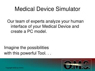 Medical Device Simulator