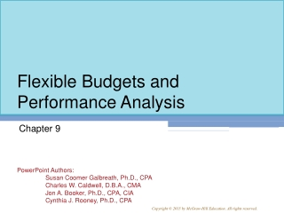 Chapter 6 Controlling Expenses