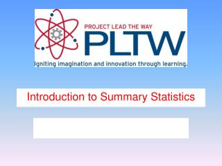 Introduction to Summary Statistics