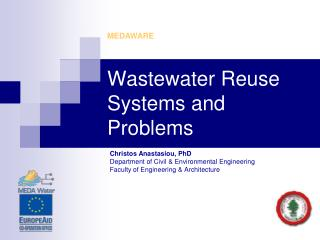 Wastewater Reuse Systems and Problems