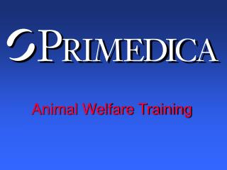 Animal Welfare Training