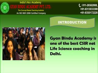 Csir net life science coaching in delhi