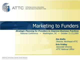 Marketing to Funders