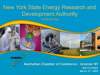 Manhattan Chamber of Commerce – Greener NY  Harris Schaer March 27, 2009