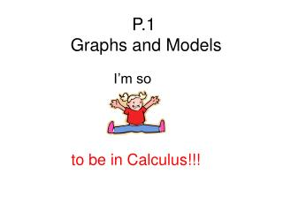 P.1   Graphs and Models