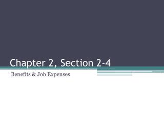 Chapter 2, Section 2-4