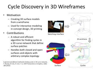 Cycle Discovery in 3D Wireframes