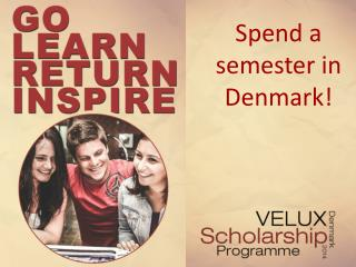 Spend a semester in Denmark!