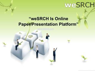 Importance Of Paper/ Presentation For Business Devlopment