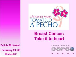 Breast Cancer: Take it to heart