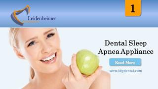 Dental Sleep Apnea Appliance