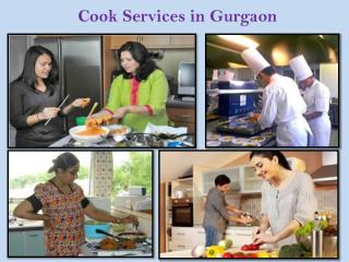 Cook Services in Gurgaon
