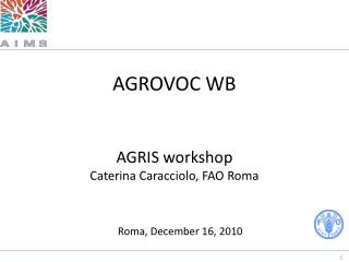 AGROVOC WB